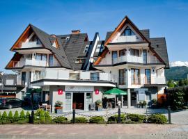 Apartamenty Rubin, hotel with jacuzzis in Zakopane