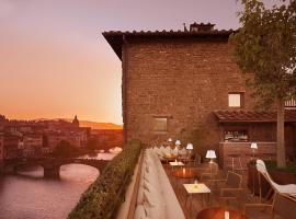 Continentale - Lungarno Collection, hotel in Uffizi, Florence
