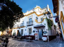 Hotel Boutique Elvira Plaza, hotel cerca de Plaza de España, Sevilla
