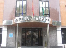 Hotel San Pablo Sevilla, hotel cerca de Aeropuerto de Sevilla - SVQ,