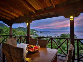 Villas de Jardin, hotel near Morne Seychellois, Port Glaud