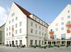 AKZENT Brauerei Hotel Hirsch, hotel in zona Aeroporto di Memmingen - FMM, Ottobeuren