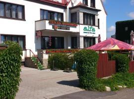 Hotel Alfa, hotel v Trutnově