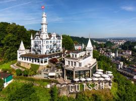 Château Gütsch, Hotel in Luzern