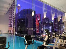 Ramada Suites by Wyndham Kuala Lumpur City Centre, serviced apartment in Kuala Lumpur