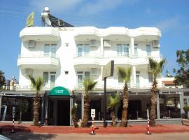 Teos Hotel, hotel perto de Aeroporto de Antalya - AYT, Antalya