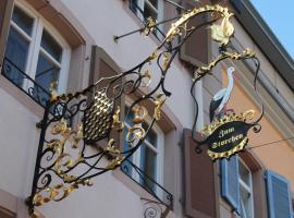 Restaurant Hotel Zum Storchen, boutique hotel in Waldkirch