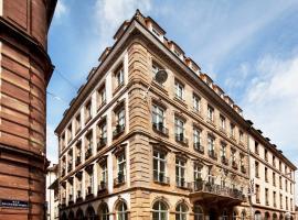 Hôtel Gutenberg, hotel en Estrasburgo