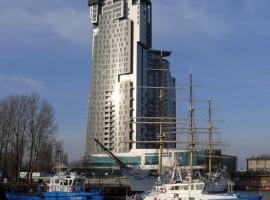 Kantal Apartamenty Sea Towers, hotel near Planetarium, Gdynia