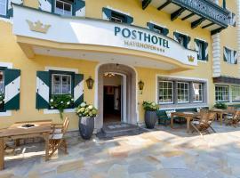 Posthotel Mayrhofen, Hotel in Mayrhofen