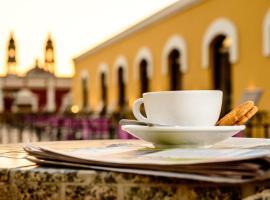 Hotel Plaza Campeche, hotel in Campeche