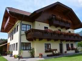 Appart Weisse Urlauben am Wolfgangsee, apartment in Sankt Gilgen