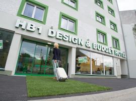 HB1 Schönbrunn Budget & Design, отель в Вене