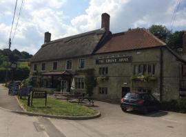The Grove Arms, Ludwell, hotel in Shaftesbury