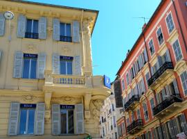 The Originals Boutique, Hôtel Le Seize, Nice Centre (Qualys-Hotel), hotel cerca de Castle Hill of Nice, Niza
