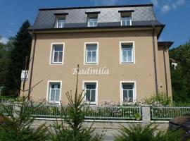 Apartmán Vila Radmila, apartment in Luhačovice