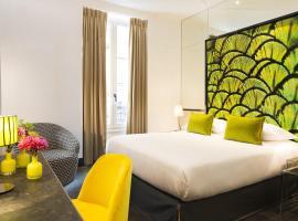 Hotel de Seze, hotel near Mathurins Theatre, Paris
