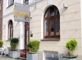 Hotel zur alten Stadtmauer, hotel i Lübeck