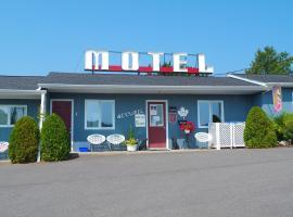 Motel Cap Blanc, motel à Kamouraska