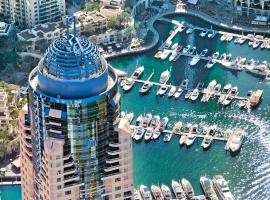 Dubai Marriott Harbour Hotel And Suites, hotel near Jumeirah Lakes Towers Tram Station 1, Dubai