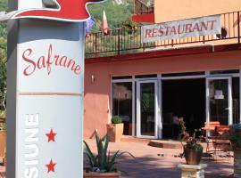 Pensiune Safrane, accessible hotel in Băile Herculane