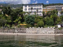 Hotel Garni Rivabella au Lac, hotel in Brissago