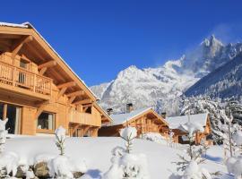 Les Chalets des Liarets, chalet i Chamonix-Mont-Blanc