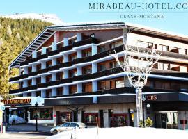 Hotel Mirabeau, hotel in Crans-Montana