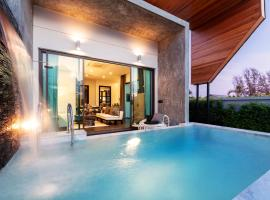 The 8 Pool Villa, hotel in Chalong