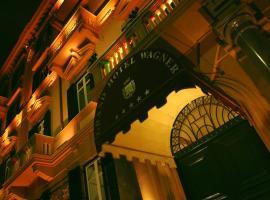 Grand Hotel Wagner, отель в Палермо