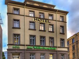 Hotel am Wilhelmsplatz, hotel in Stuttgart-Mitte, Stuttgart