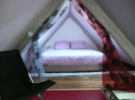 Le Chat Rouge Chambres d'Hôtes de Charme en Alsace, hotel en Orbey