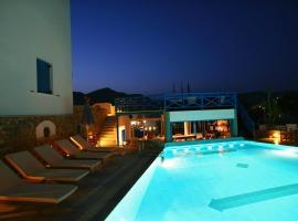Poseidon Hotel, отель в Иосе