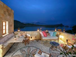 Melenos Lindos Exclusive Suites, отель в Линдосе