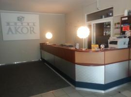 Hotel Akor, hotel near University hospital, Bydgoszcz