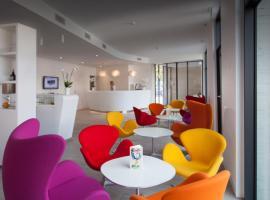 Hotel City Lugano, отель в Лугано