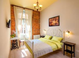 Post House Rooms: Lviv'de bir otel