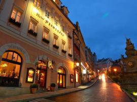 Promenáda Romantic Hotel, hotel en Karlovy Vary