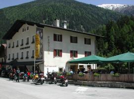 Hotel Gomagoierhof, hotel a Stelvio