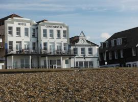 Hotel Continental, hotel in Whitstable