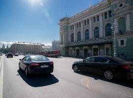 Apartment Ulitsa Soyuza Pechatnikov, отель в Санкт-Петербурге, рядом находится Мариинский театр