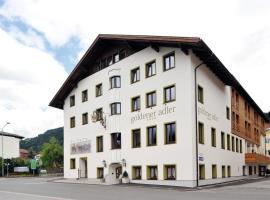 Hotel Goldener Adler Wattens, Hotel in der Nähe von: Swarovski Kristallwelten, Wattens