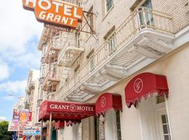 Grant Hotel, hotel in Downtown San Francisco, San Francisco