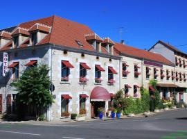 Hotel De La Loire、サン・サトゥルのホテル