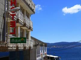 Atalaya II, hotel cerca de Playa Canelas, Portonovo