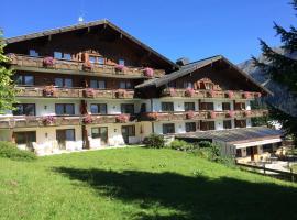 Suitehotel Kleinwalsertal, hotel in Hirschegg