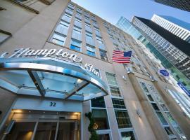 Hampton Inn Manhattan/Downtown- Financial District, hotel near National September 11 Memorial & Museum, New York