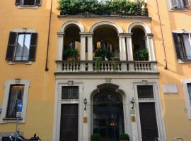 Hotel Gran Duca Di York, viešbutis Milane