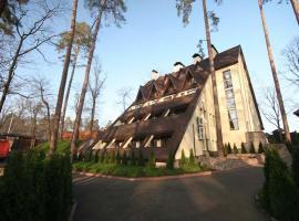 Kolyba House: Kiev'de bir otel