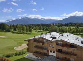 Guarda Golf Hotel & Residences, hotel in Crans-Montana